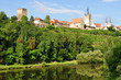 Neckar valley with spa Bad Wimpfen