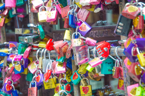 Symbols of love in Verona - Juliet yard