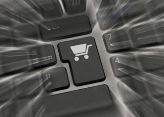 Motion blur sur touche e-commerce