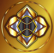 Golden Celtic Knot