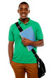 Its study time. Young african student
