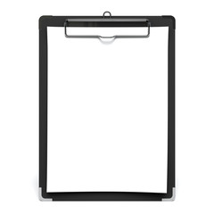 White Paper On Clip Board