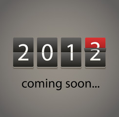 2013 coming soon. Paper board