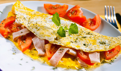 Omelette BIO