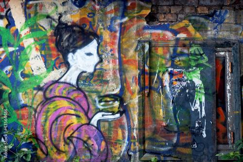 Fototapeten,graffiti,wand,kunst,straße