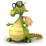Fototapety Fun dragon