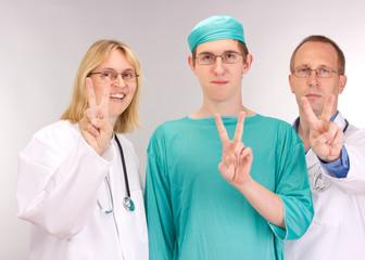 Medical doctor team