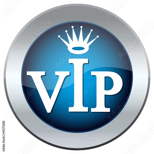 "web button with the inscription ""vip"""