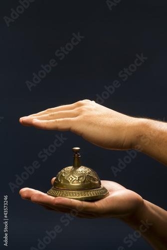 Brass Service Bell.