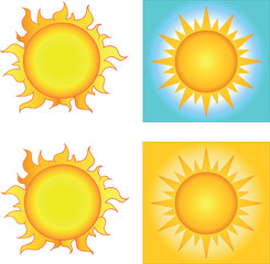 Different Sun Designs
