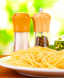 Composition of the delicious spaghetti