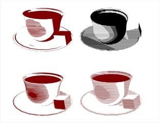 Bosnian coffee cup- fildzan