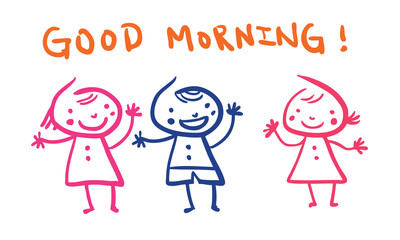 Kindergarten: Good Morning!