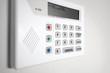 Leinwandbild Motiv Home security alarm system