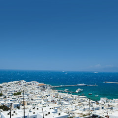 The beautiful Greek island, Mykonos