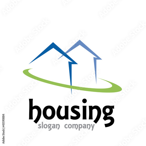 Logo housing design # Vector