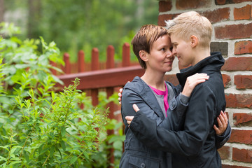 Two lesbians