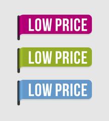 Modern  label – low price