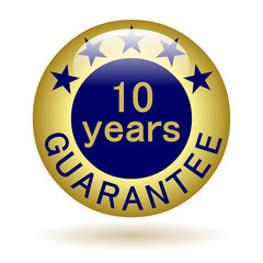 Button guarantee 10 years