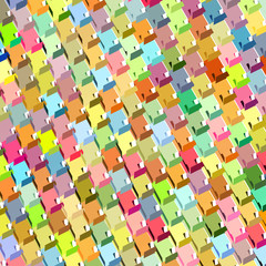 fragmented rainbow color abstract pattern surface backdrop