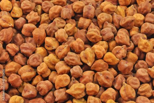 close up of pile of black, brown grams