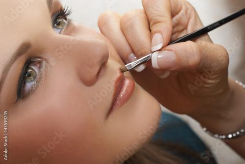 Fototapeten,weiblich,makeup,portrait,zusammenstellen