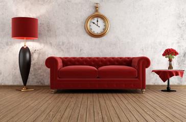 Elegant vintage livingroom