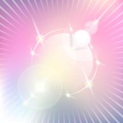 lichtwesen rosavio-weiß