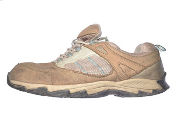 old hiking shoe