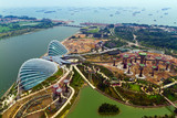 River Hongbao view from the roof top of Marina Bay Sands resort, - Fine Art prints
