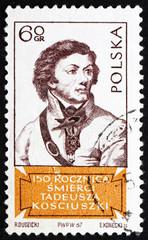 Postage stamp Poland 1967 Tadeusz Kosciusko