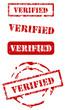 Verified stamp set