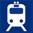 Schild - Bahnservice