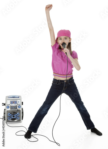 Little Karaoke Singer