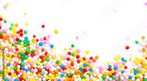Fotobehang Snoepjes Sprinkles