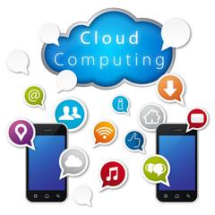 Cloud computing, sharing service