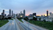 Downtown Atlanta at Dusk