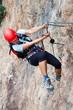 Via ferrata/Klettersteig Climbing