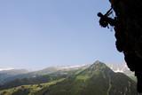 Fototapete österreich - Klettern - Beim Sport