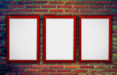 Frame with wall