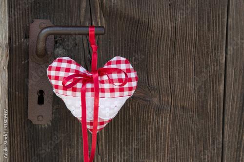Ein rustikales Herzchen