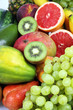 Mango,papaya,avocado,ananas,kiwi,babane e frutta fresca