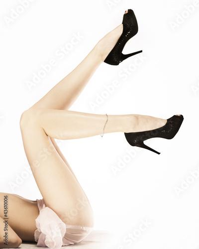 Long beautiful legs