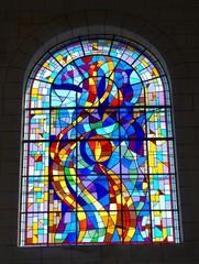 Vitrail de l'église de Muzillac