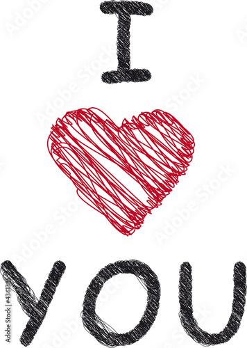 I love you - Liebe - Herz - Romantik