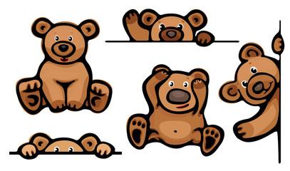 Funny bears.