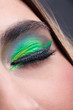 Modern stylish make-up eye