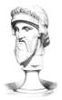 Head of God Jupiter/Zeus