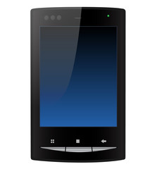 Small black smartphone