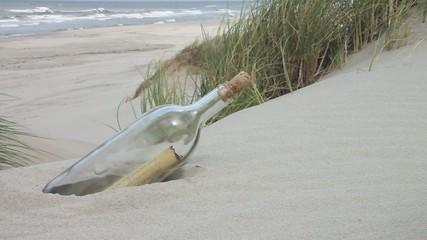 Strand - 004 - Flaschenpost